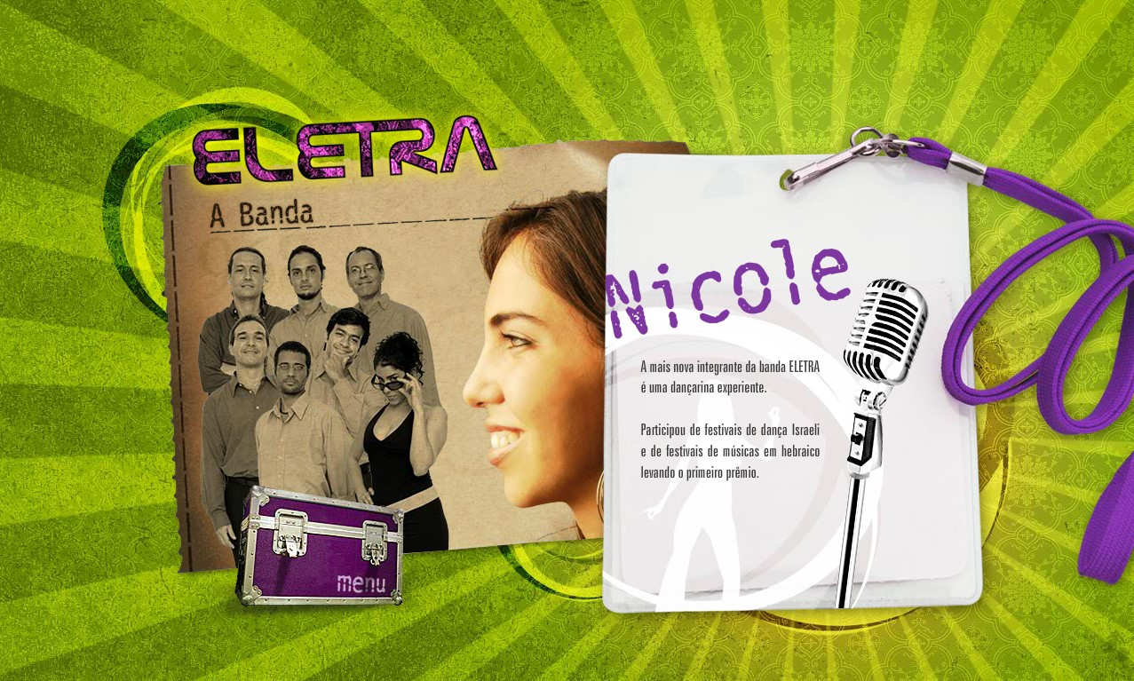 Banda Eletra old website